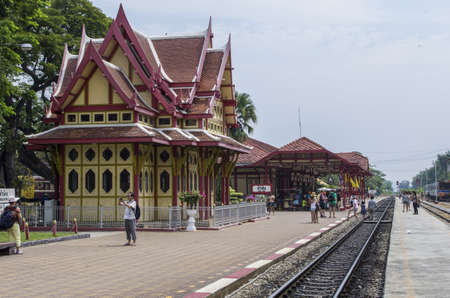 Hua Hin railway station is one of the oldest in Thailand and its main feature is The Royal Waiting Room that used to welcome King and his court when they were visiting the town.