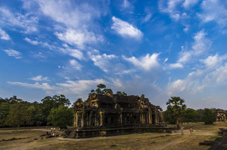 The Library on the grounds of Angkor Wat Cambodia photo