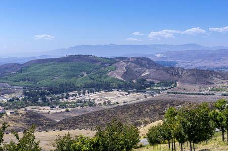A beautiful birds eye view of Simi Valley, California
