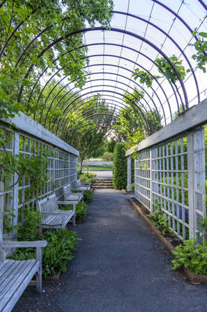 Chaska, Minnesota - June 18, 2013 : The Minnesota Landscape Arboretum is a horticultural garden and arboretum . It is part of the Department of Horticultural Science in the College of Food, Agricultural and Natural Resource Sciences at the University of M
