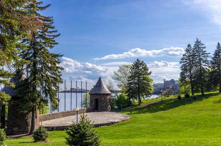 erikson: Duluth, Minnesota, Leif Erikson park in Duluth Minnesota Stock Photo
