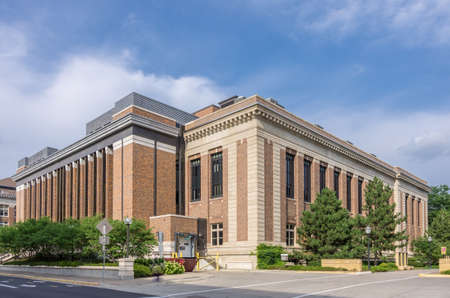 Minneapolis, Minnesota - August 20, 2014: The College of Science & Engineering on East Bank campus portion of  the University of Minnesota, Twin Cities.  It is the oldest and largest campus within the University of Minnesota system. Editorial