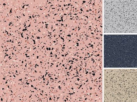 Realistic illustration of seamless granite texture Vector