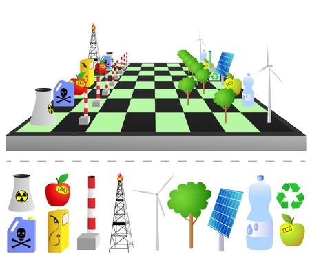 contaminacion del agua: Piensa en verde - jugar verde