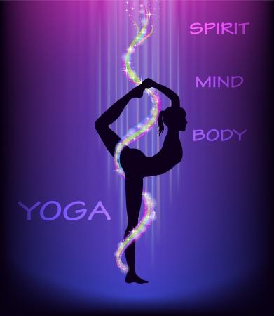 mind body: Yoga dancer s pose  natarajasana