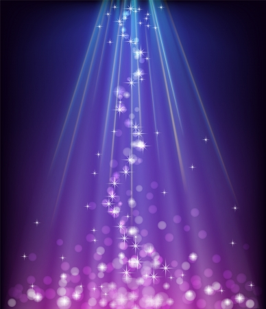 Abstract blue purple background Stock Vector - 16898201
