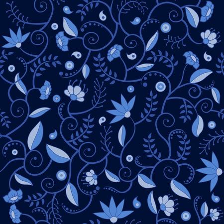 Floral seamlees pattern Stock Vector - 17068519