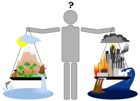 Eco lifestyle vs urban lifestyle