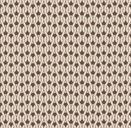Woven knitted seamless detailed pattern beige colour