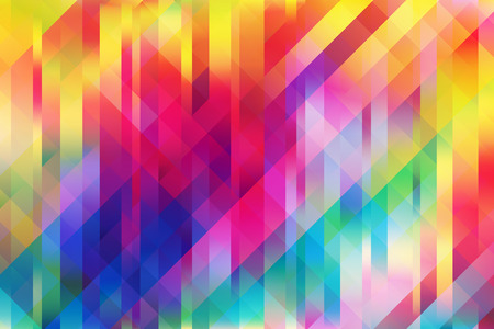 color illustration: Shiny colorful mesh background with vertical and 2 diagonal lines