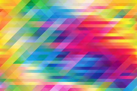 Licht colorful mesh background with horizontal and 2 diagonal lines Illustration
