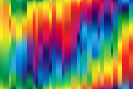 Bright colorful mesh background with random width lines