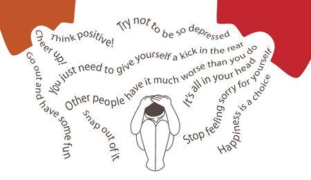 Slechtste dingen om te zeggen tegen een man in depressie