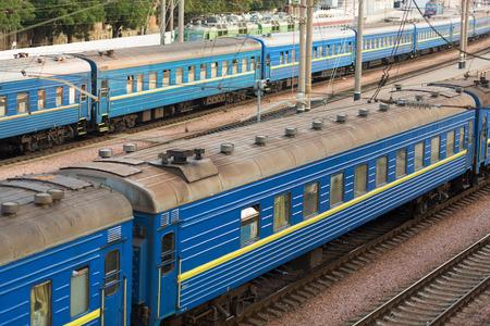 odessa: Railway station in Odessa, Ukraine in the morning