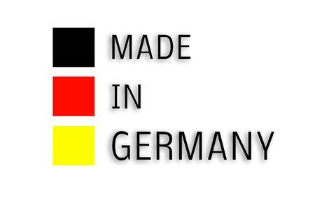 Made in Germany Foto de archivo - 130063161
