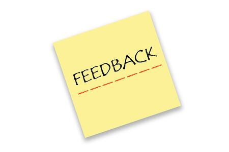 Note FEEDBACK sign