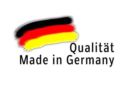 Quality Made in Germany Banque d'images - 130063362