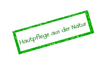 Skin care from nature - Stamps