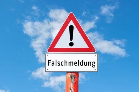 Germany false report