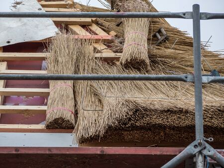 Building material for a Frisian house
