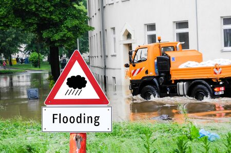 flooding warn sign