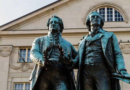 Goethe and Schiller Monument