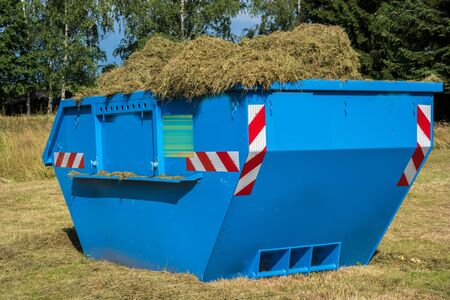 Container with green waste