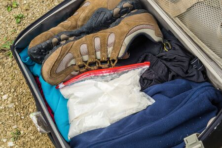 Cocaine find in the suitcase