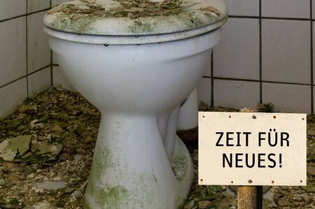 Time for New Old Toilet