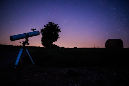 Viewing stars astronomy