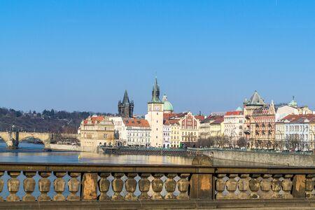 Prague in the Czech Republic Stockfoto - 130063284