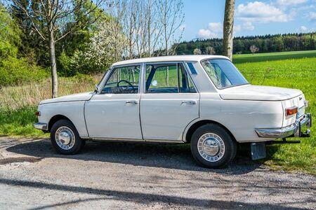 GDR retro classic car Wartburg 353