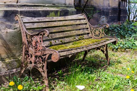 old Vintage Bench Stock fotó