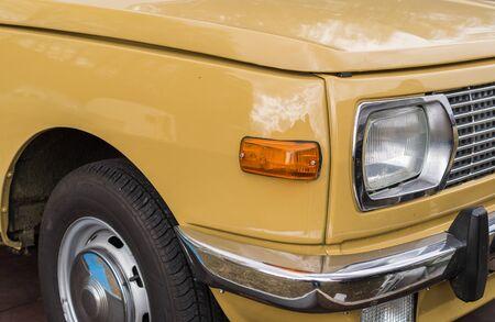 Retro GDR car Wartburg