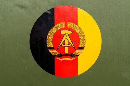 old GDR flag
