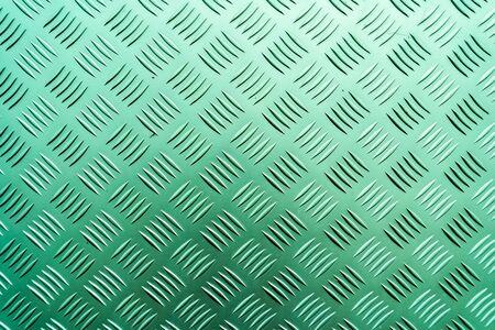 Chequer plate Green Texture
