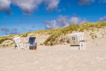 Klappholttal sandy beach Sylt