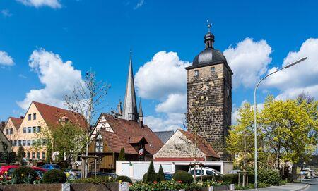 Skyline of Lichtenfels Stock Photo - 130130338