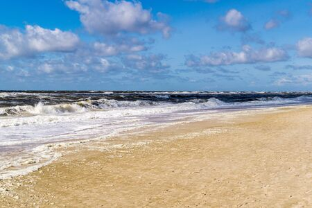 Sylt beach in Kampen
