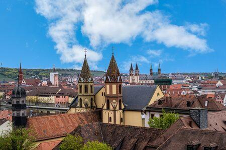 Skyline in Würzburg