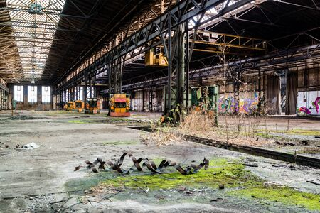 Old factory panorama