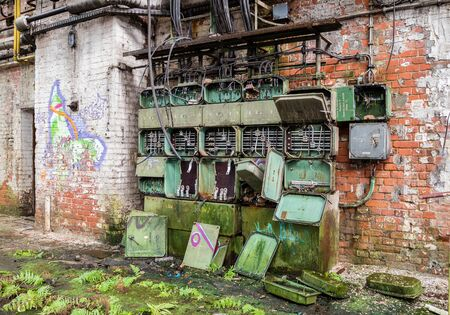 Old fuse box factory