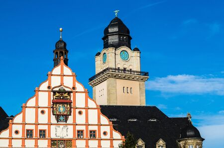 Plauen City Hall Stockfoto
