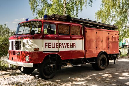 Old GDR Fire Department Retro