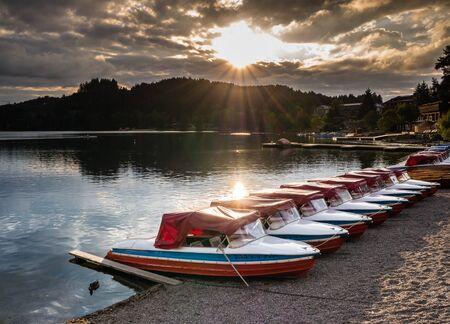 Sunset at Lake Titisee