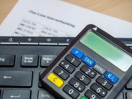 Online banking Tangenerator Tan list