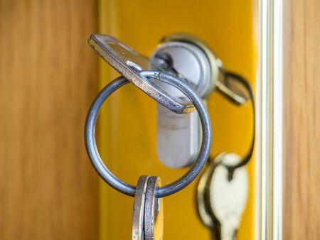 safety lock appartment Zdjęcie Seryjne