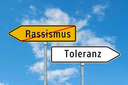 Sign Racism - tolerance