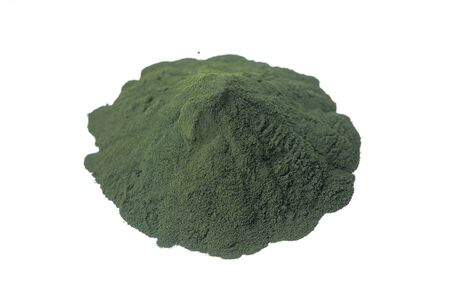 Chlorella powder Superfood Stock fotó