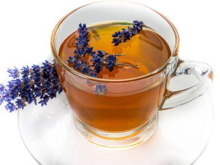 fresh Lavendel Tea